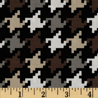 Michael Miller Everyday Houndstooth Taupe