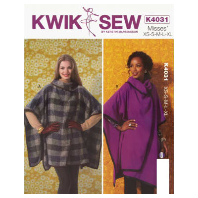 Kwik Sew Misses Wraps Pattern