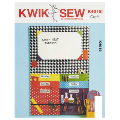 Kwik Sew Craft School Work Organizer Pattern