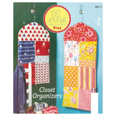 Ellie Mae Designs Closet Organizers Pattern