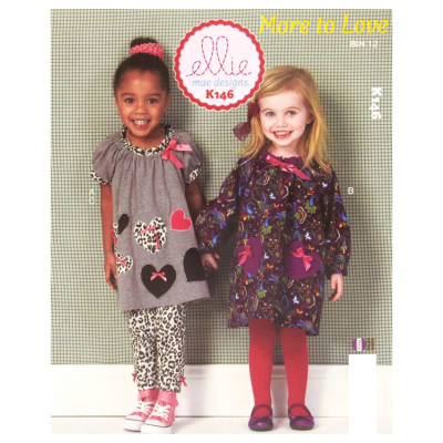 Ellie Mae Designs More to Love Pattern