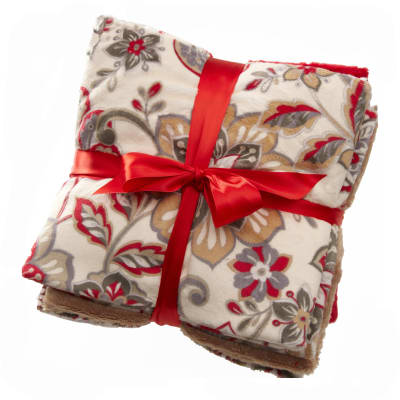Minky Cuddle Quilt Kit Marrakech Scarlet