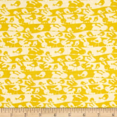 Garden Animal Stripe Lemon