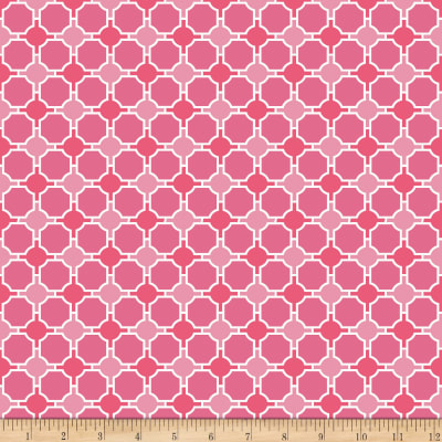 Riley Blake Splendor Geometric Pink