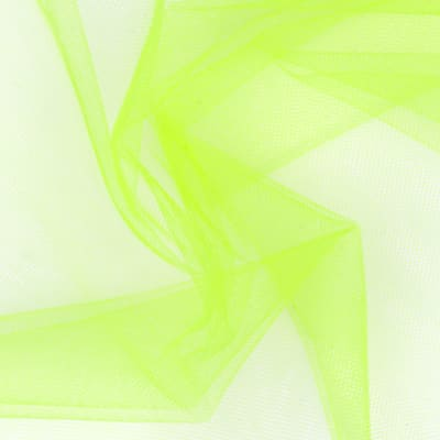 "54"" Wide Nylon Tulle Neon Yellow"