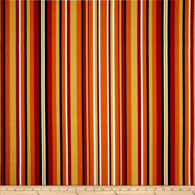 Terrasol Indoor/Outdoor Hombre Stripe Chili Pepper