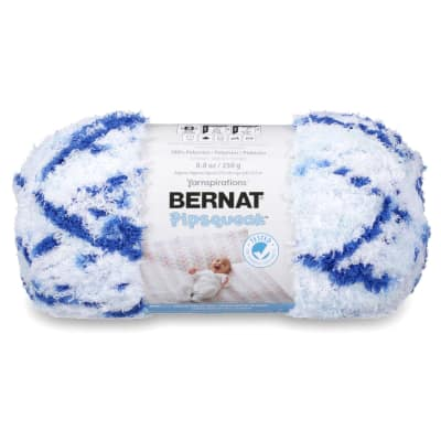 Bernat Pipsqueak Big Ball Yarn (58115) Blue Jean Swirl
