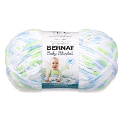 Bernat Baby Blanket  Big Ball Yarn (04233) Funny Prints