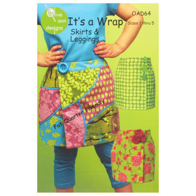 Olive Ann Designs Its a Wrap Skirt & Leggings Pattern