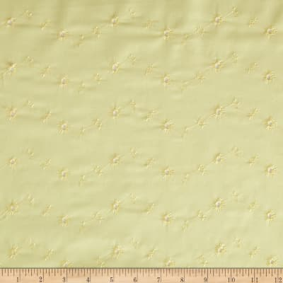 Embroidered Eyelet Maize