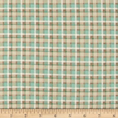 Outback Plaid Teal