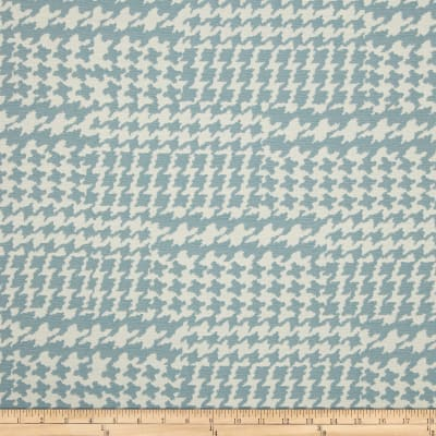 Richloom Pairpoint Houndstooth Jacquard Moonstone
