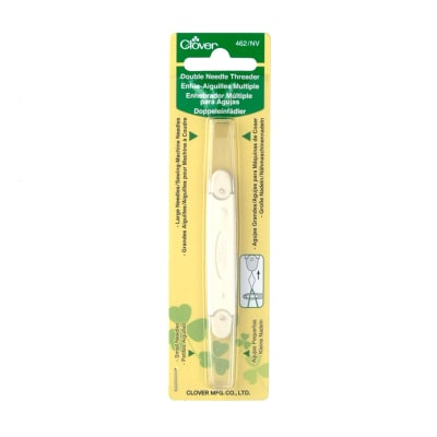 Clover Double Needle Threader