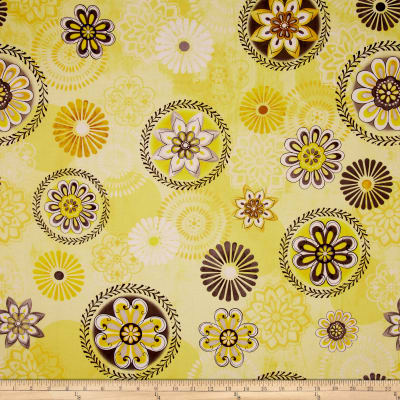Felicity Floral Medallions Yellow
