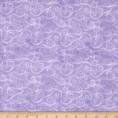 Essentials Swirly Scroll Lavender