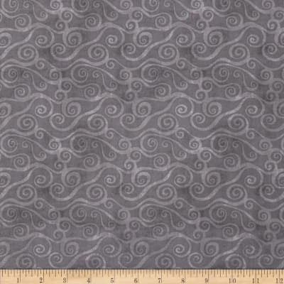 Essentials Swirly Scroll Dark Grey