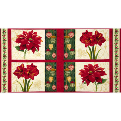 Holiday Magic Placemat Panel Multi