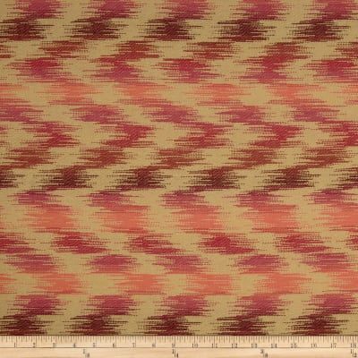 Sunbrella Outdoor Pulse Chevron Sunset