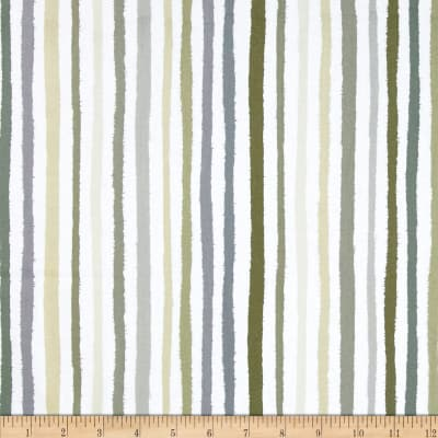 Paintbox Shadows Stripe Taupe/White
