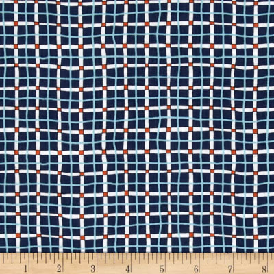 A Hole In One Plaid Blue