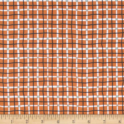 A Hole In One Plaid Orange