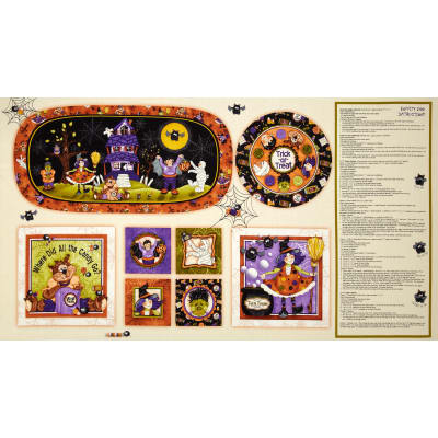 "Boppity Boo! Craft 24"" Panel Multi"