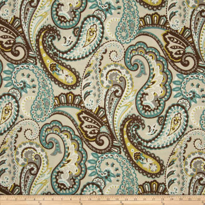 Bryant Indoor/Outdoor Tamara Large Paisley Quartz