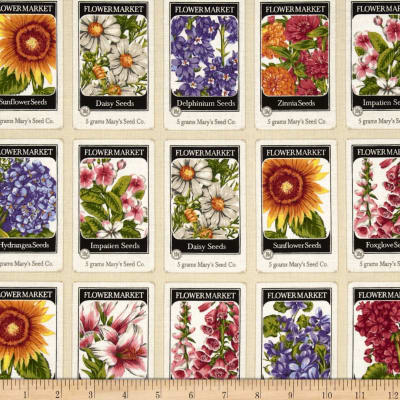 Everyday Favorites Seed Pack Square Ivory