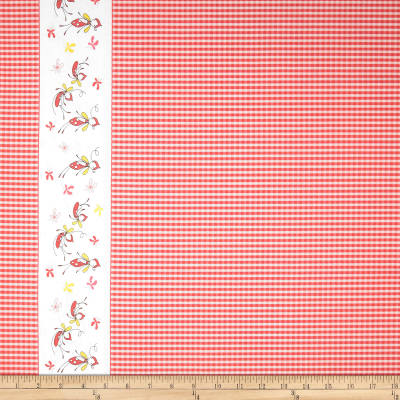 Riley Blake Butterfly Dance Double-Border Pink