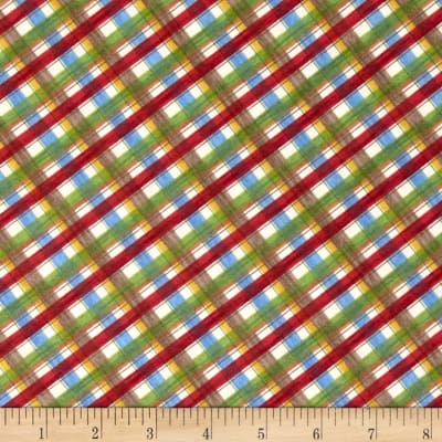 Happy Campers Plaid Multi