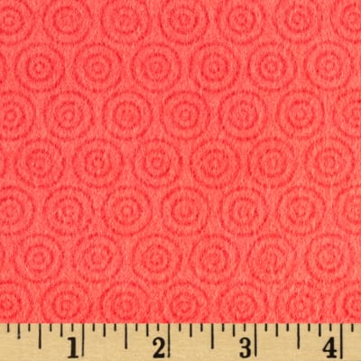 Riley Blake Fly Aweigh Flannel Circles Red