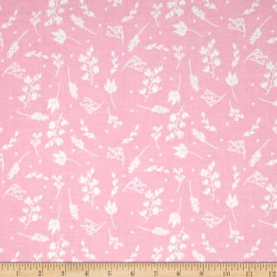 Riley Blake Floriography Branches Pink