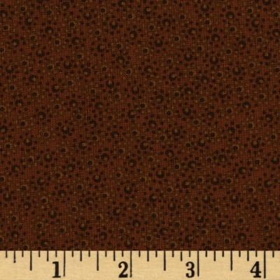 """108"""" Wide Ashley Quilt Back Brown"""