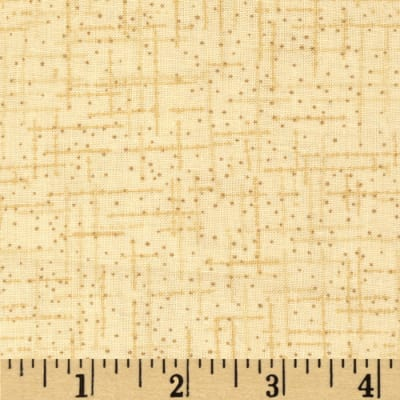 "108"" Wide Matrix Quilt Back Butter"