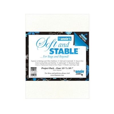 "ByAnnie's Soft And Stable Project Pack 13-1/2""x18-1/2"" Black"