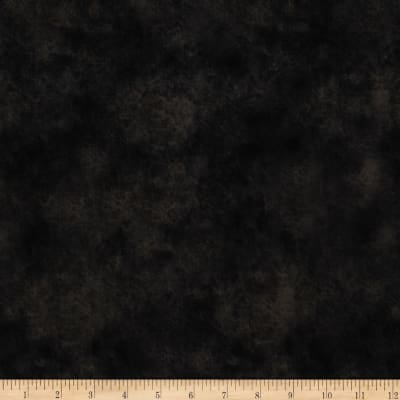 "Round Up 115"" Wide Quilt Backing Leather Texture Black"