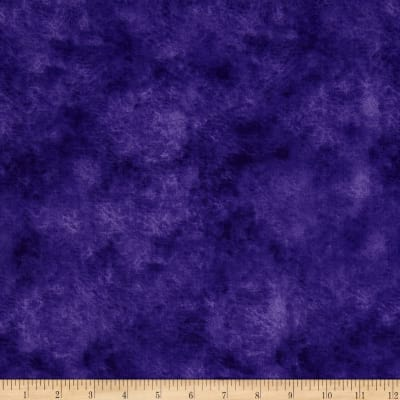 "118"" Wide Quilt Backing Leather Texture Purple"