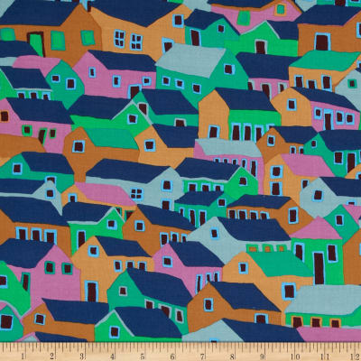 Kaffe Fassett Spring 2014 Collective Water Shanty Town Cool