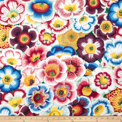 Kaffe Fassett Collective Water Gloxinia's Nature