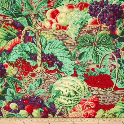 Kaffe Fassett Spring 2014 Collective Meadow Market Basket Antique