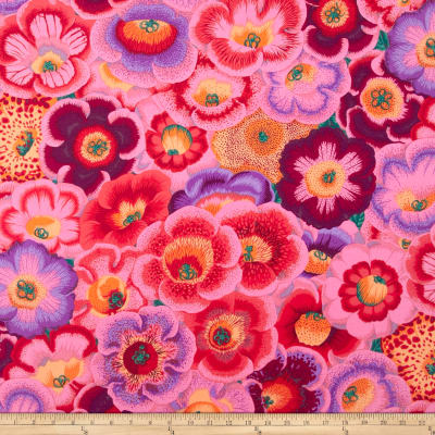 Kaffe Fassett Collective Volcano Gloxinia's Pink