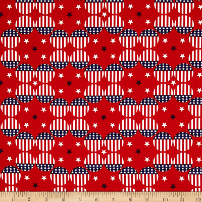 Stars & Stripes II Flag Dots Red/White/Blue