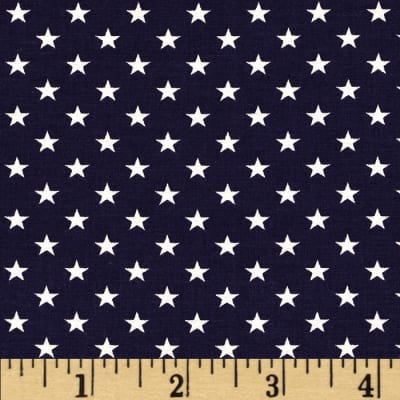Stars & Stripes II Stars Blue/White