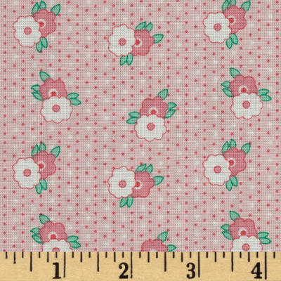 1930's Classics Floral Stripe Pink