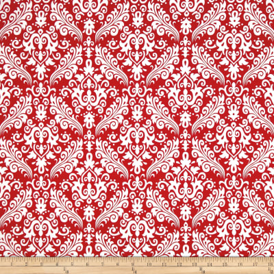 Riley Blake Medium Damask Red
