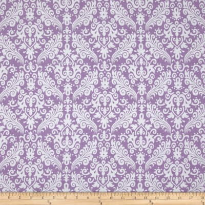 Riley Blake Medium Damask Lavender