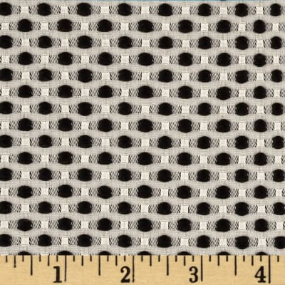 Candy Jacquard Dots Black