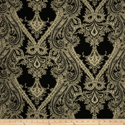 Telio Portland Challis Ornate Black/Tan