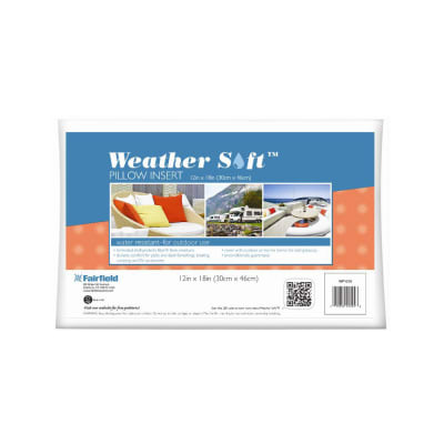 "Fairfield Weather Soft Outdoor Pillow 12"" x 18"""