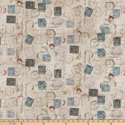 Tim Holtz Eclectic Elements Correspondence Taupe